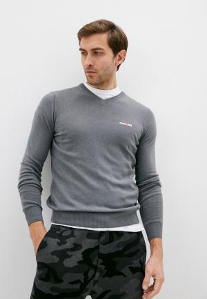 Пуловер Roberto Cavalli Sport. Цвет: серый