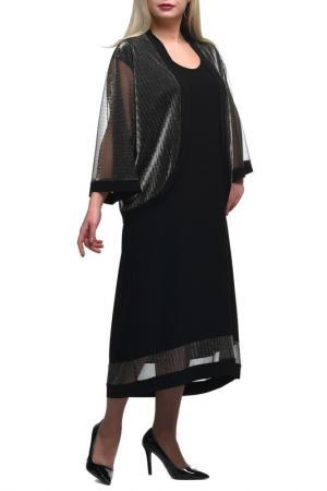 Платье + накидка OLSI. Цвет: черный