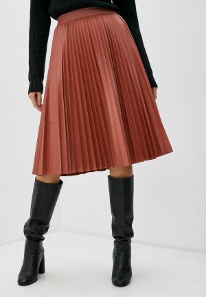 Юбка Max&Co. Цвет: коричневый