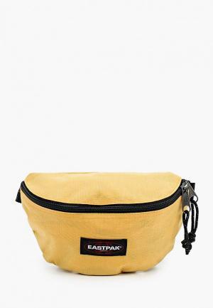 Сумка поясная Eastpak. Цвет: желтый