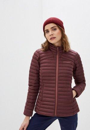 Куртка утепленная Berghaus. Цвет: бордовый