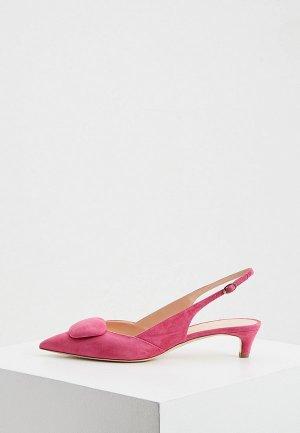Туфли Rupert Sanderson. Цвет: розовый
