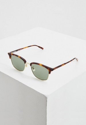 Очки солнцезащитные Montblanc. Цвет: коричневый