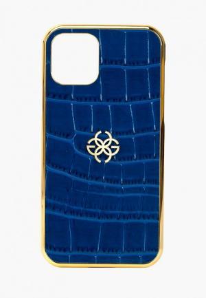 Чехол для iPhone Golden Concept. Цвет: синий