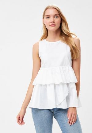 Блуза Fornarina. Цвет: белый