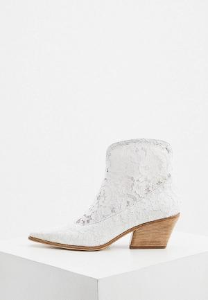 Ботильоны Le Silla. Цвет: белый