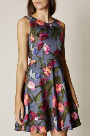 Платье Karen Millen. Цвет: синий