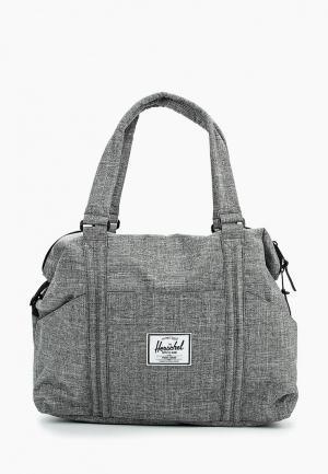Сумка спортивная Herschel Supply Co. Цвет: серый