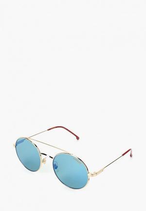 Очки солнцезащитные Carrera. Цвет: золотой