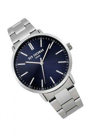 Наручные часы BEN SHERMAN. Цвет: синий