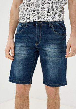 Шорты джинсовые Van Hipster. Цвет: синий