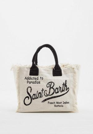 Сумка MC2 Saint Barth. Цвет: белый