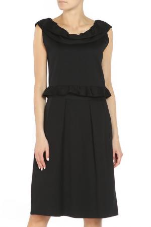 Платье Christian Dior. Цвет: черный