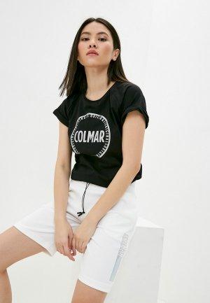 Футболка Colmar. Цвет: черный