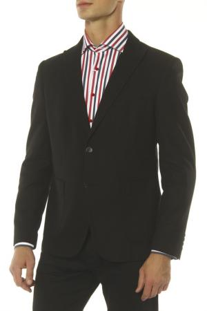 Пиджак MONDIGO. Цвет: черный