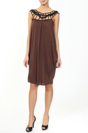Платье Caractere. Цвет: кэмл