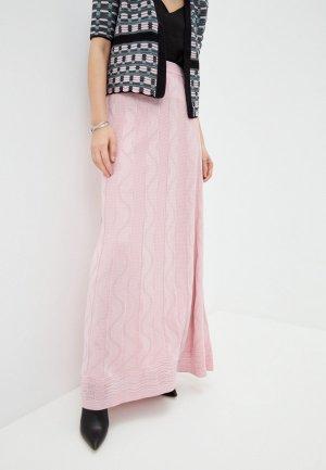 Юбка M Missoni. Цвет: розовый