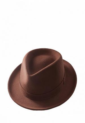 Шляпа EleGant. Цвет: коричневый