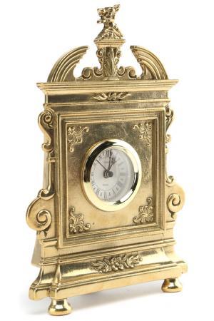 Часы Флоренция, 26х18 см Stilars. Цвет: золотой