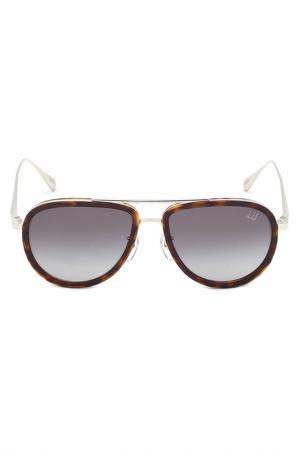 Солнцезащитные очки DUNHILL. Цвет: черепаховый