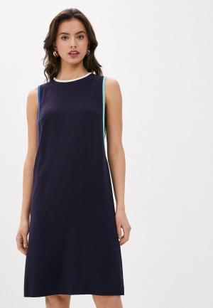 Платье Laurel. Цвет: синий