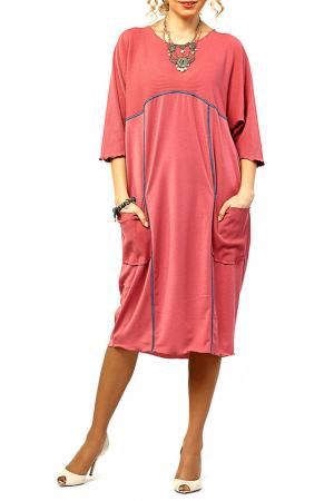 Платье Kata Binska. Цвет: брусничный