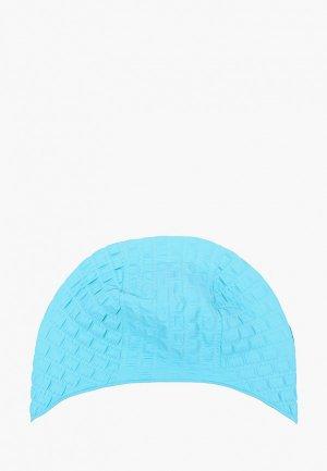 Шапочка для плавания MadWave. Цвет: голубой