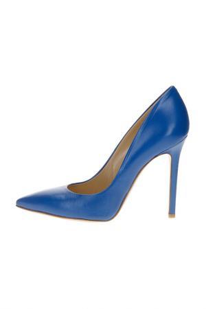Туфли MARC ELLIS. Цвет: синий
