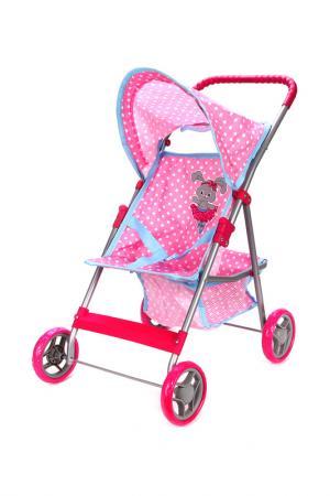 Коляска прогулочная Зайка MARY POPPINS. Цвет: розовый