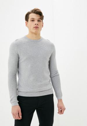 Джемпер Tom Tailor Denim. Цвет: серый