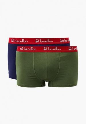 Трусы 2 шт. United Colors of Benetton. Цвет: разноцветный