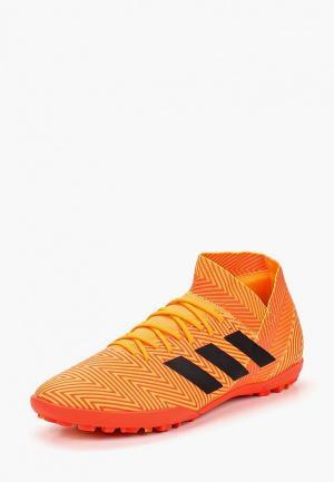 Шиповки adidas. Цвет: оранжевый