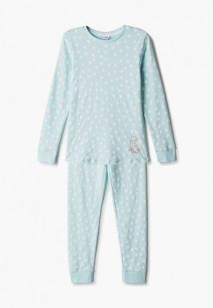 Пижама OVS. Цвет: бирюзовый