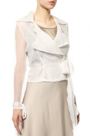 Блуза Angelo Mozzillo. Цвет: белый