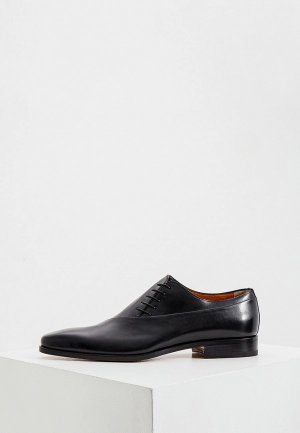 Туфли Santoni. Цвет: черный