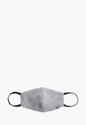Маска для лица с фильтрующим элементом Orby. Цвет: серый