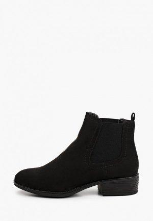 Ботинки Dorothy Perkins. Цвет: черный