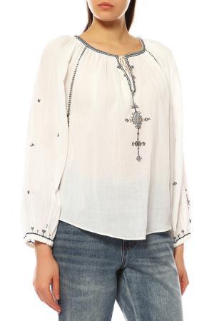 Блуза ETOILE ISABEL MARANT. Цвет: ecru