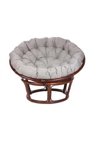 Кресло для отдыха с подушкой MEBEL IMPEX. Цвет: коричнево-красный