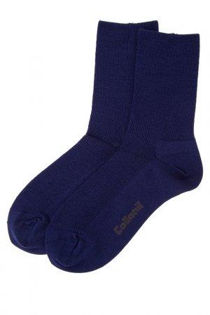 Носки COLLONIL. Цвет: синий