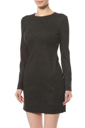 Платье Diane von Furstenberg. Цвет: серый