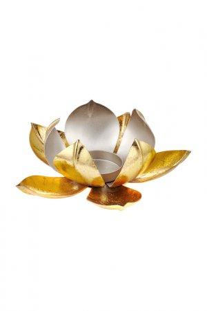 Декоративный подсвечник MIA. Цвет: золотой