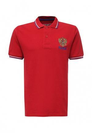 Поло Atributika & Club™. Цвет: красный