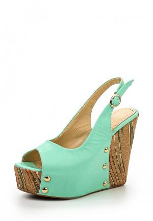 Босоножки Mamma Mia. Цвет: зеленый
