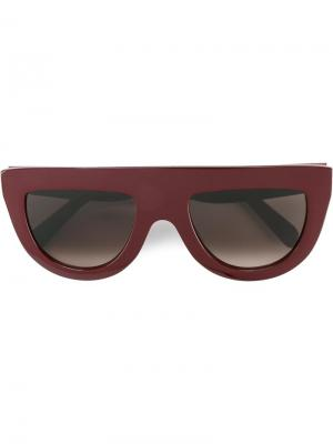 Солнцезащитные очки Andrea Céline Eyewear. Цвет: розовый и фиолетовый