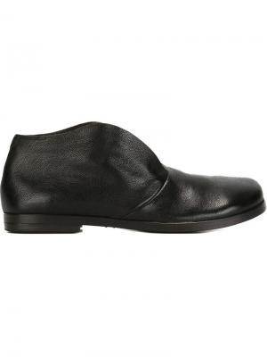Ботинки-дезерты Listello Marsèll. Цвет: чёрный