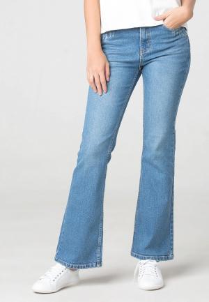 Джинсы Fashion Code. Цвет: голубой