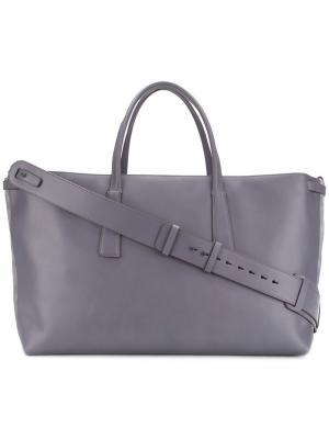 Большая сумка-шоппер Zanellato. Цвет: розовый и фиолетовый