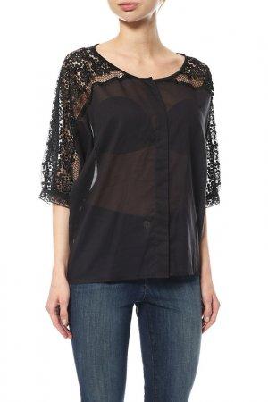 Блуза Charo Ruiz. Цвет: черный