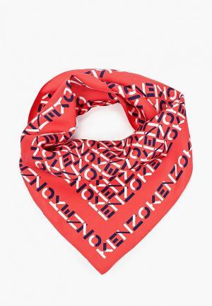 Платок Kenzo. Цвет: красный